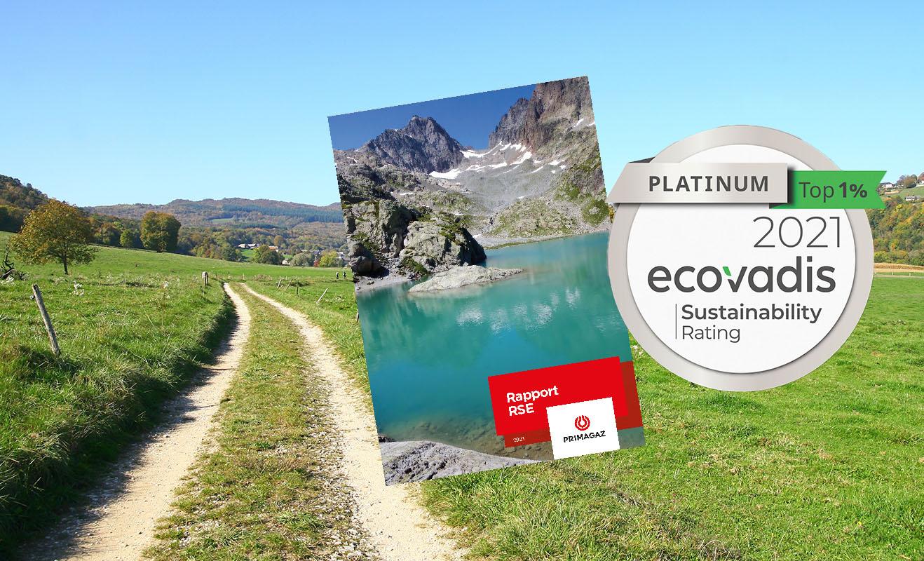 Nouveau rapport RSE et platine Ecovadis