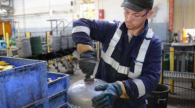 La sécurité des bouteilles de gaz Primagaz