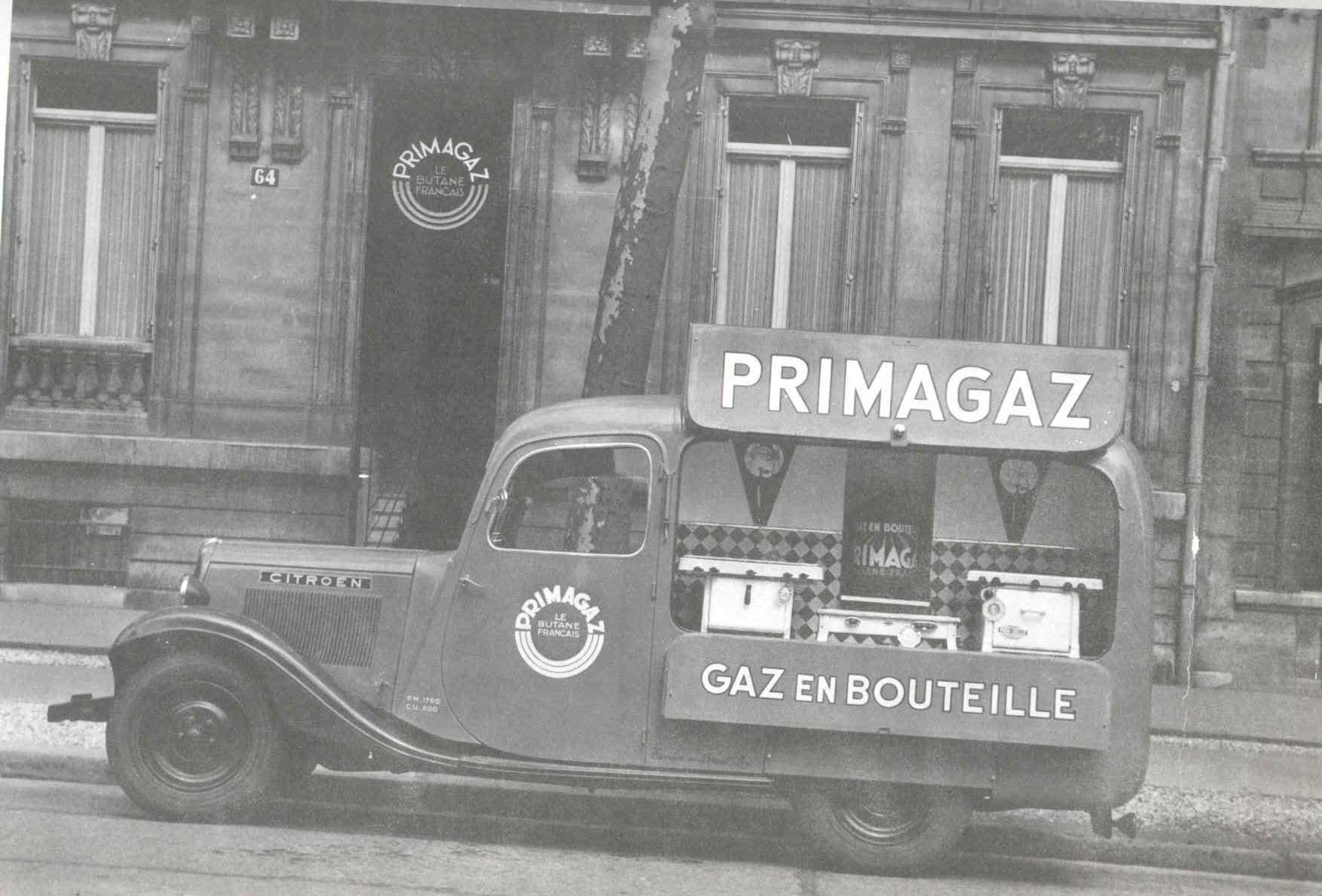 Primagaz en 1938
