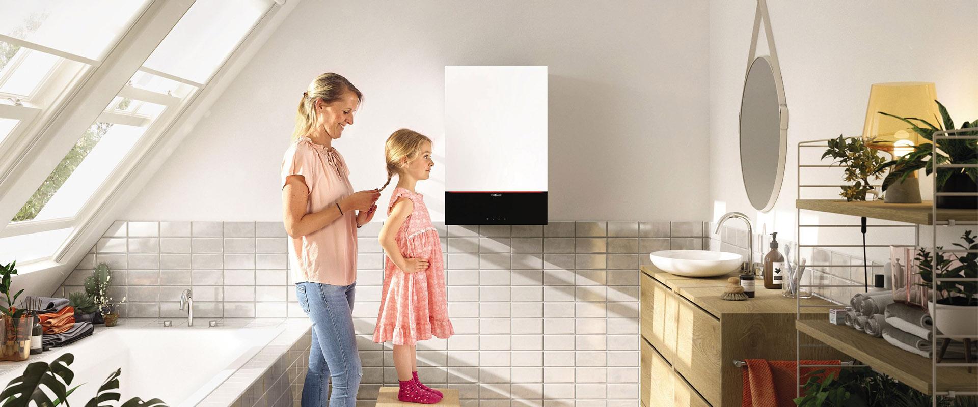 Installer un chaudière gaz dans une salle de bain