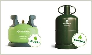 Nos bouteilles biogaz