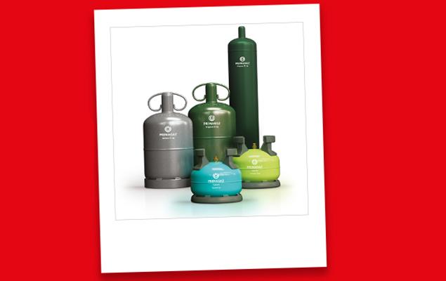 Toutes les bouteilles de gaz Primagaz