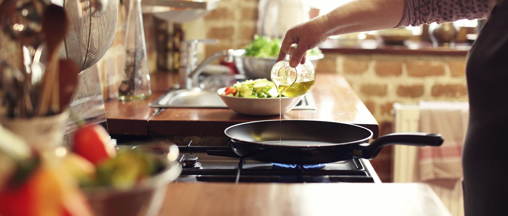 Cuisine au gaz : cuisine plaisir !