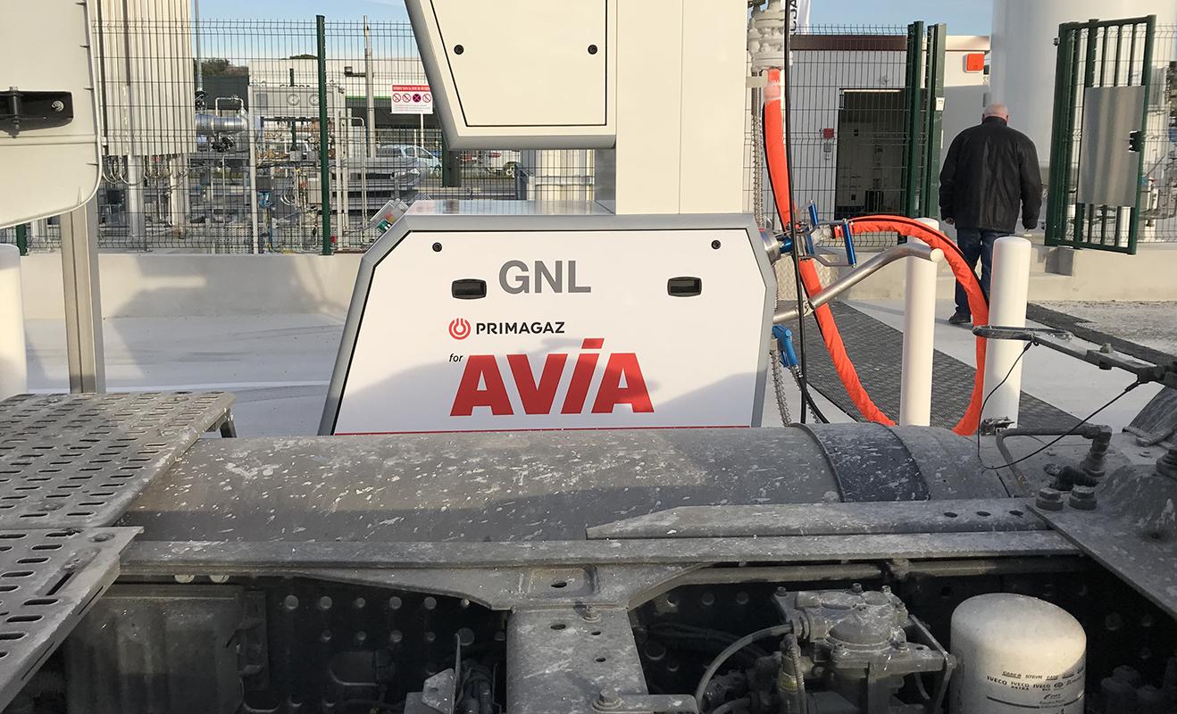 Station GNV Montélimar