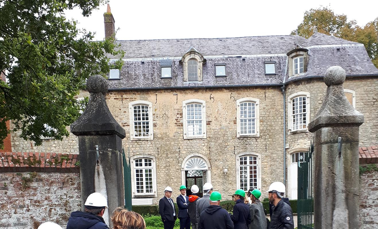 Chantier d'éco-rénovation de la Maison du Parc naturel régional des Caps et Marais d'Opale