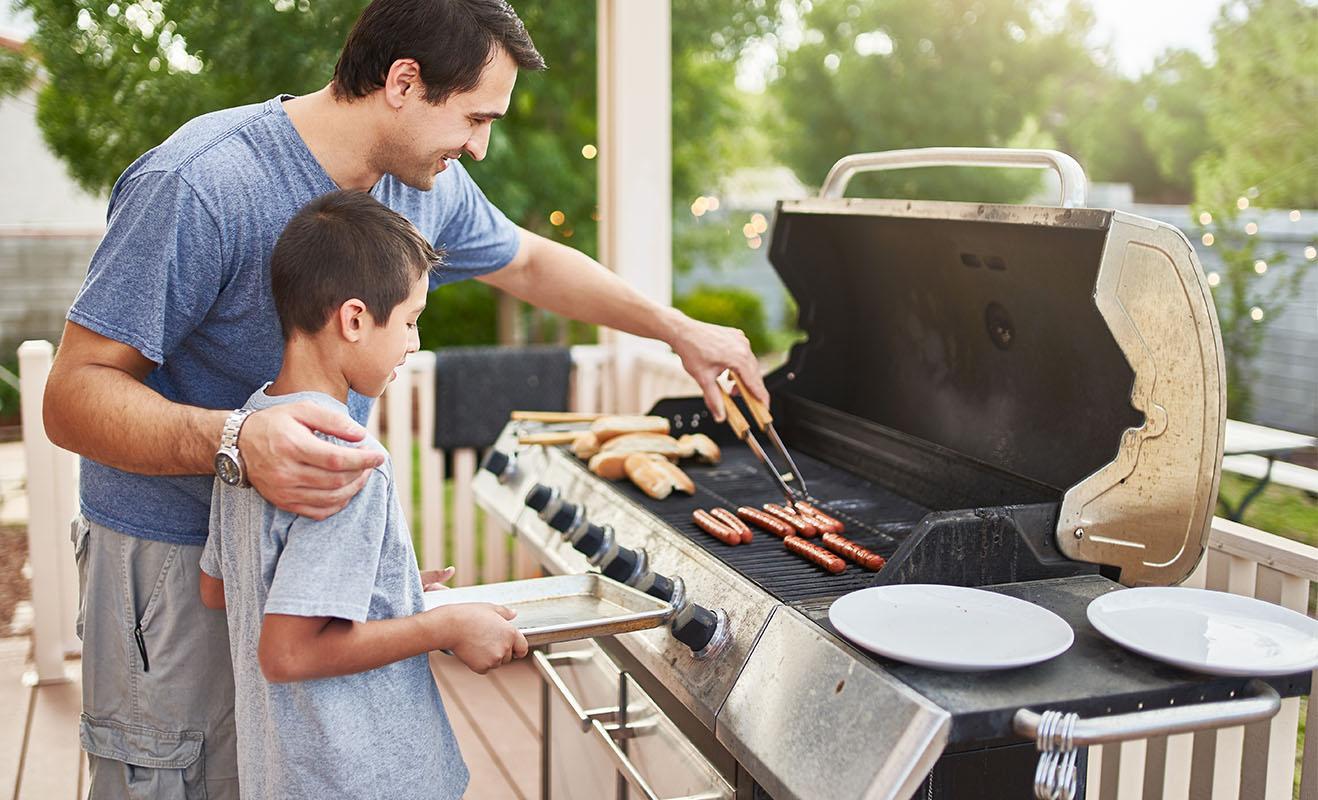 Nettoyer son barbecue gaz