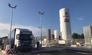 Station GNV Primagaz Avia Toulouse